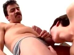 unshaved german wet crack