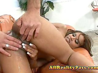 latin bitch banged so hard her cave squirts
