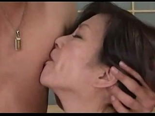 older  chick licking penis 69 gangbanged by