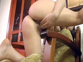 bushy curvy vera be undressed and masturbate