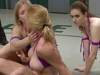 awesome gorgeous girl dominated