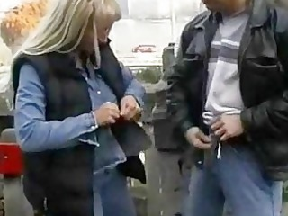 publicly violated handjob into outdoor