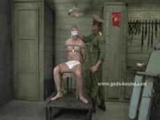 Ex military gay pervert binds man