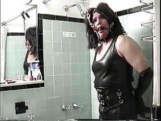 small miss christi bathroom desk bondage