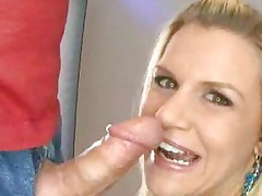 busty young loves licking penis