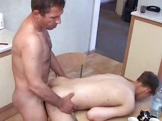 bleached twink and matura gay daddy having gay on