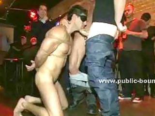 wonderful gay lady bound rough and gifted to gang