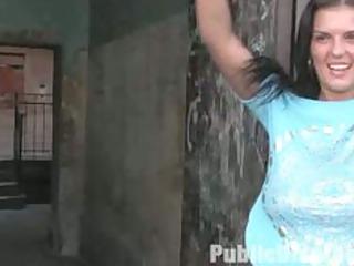 black yasmin inside al fresco bondage & fuck