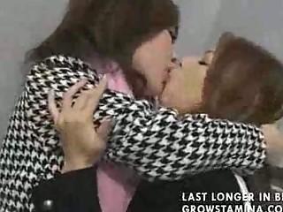 two banging japa lesbi part1