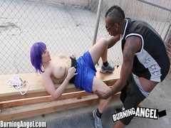 sweet hotty giant breasted emo interracial engulf