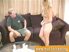 porn casting interview naive blondie serena