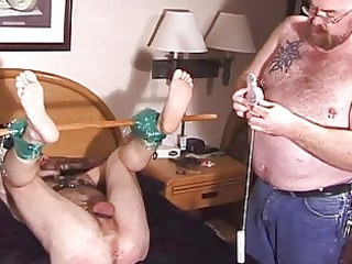 heavy mature gays domination game