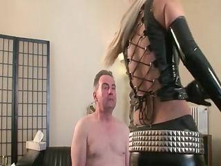 slapped by albino latex angel
