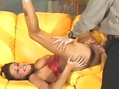 horny slut china babe slammed into tight butt