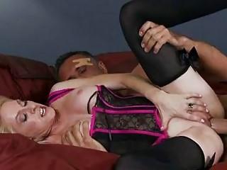 pale bitch with huge tits inside sluty underwear