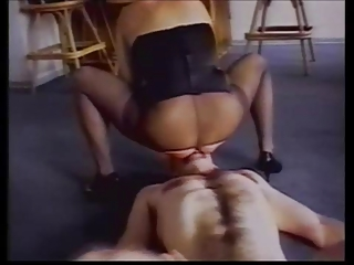 slave sucks nylons domina and obtain pierced