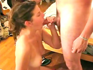 these angel licks wang like a pro and acquires a