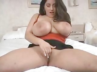 bbw bitch with humongous tits obtains a bedroom