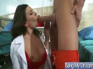 doctors and nurses obtain difficult fuck with