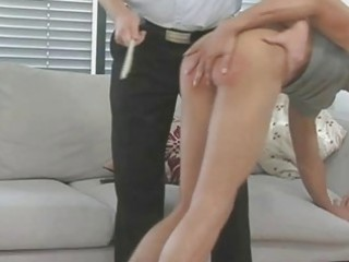 hunky gay dude obtains spanked and whipped pretty