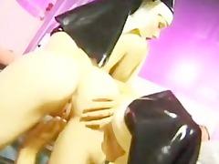 horny fucking nuns into latex