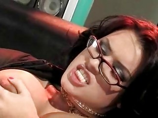 desperate brunette older  with glasses acquires