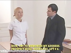 a naughty teen chick obtains punished and fucked