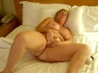 grown-up maiden masturbating with devices