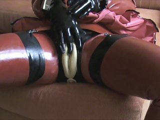 rubber vagina masturbation