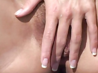 masturbation on the shore