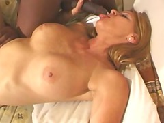 blonde and two bbc - bottom facial