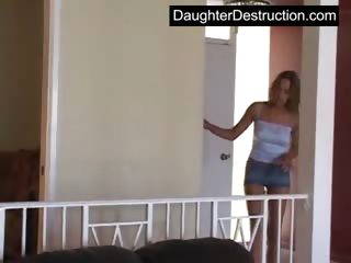 beautiful amateur daughter roughly hatefucked