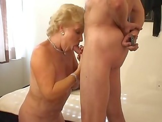 sweet golden-haired old smokin porn