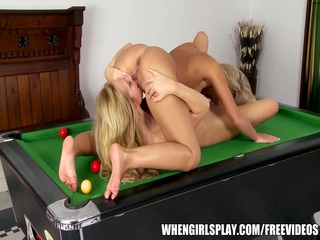 foreign swap student is tempted by her lesbo
