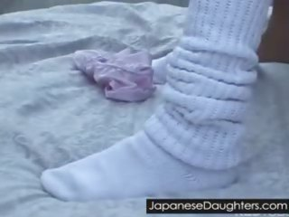 japanese daughter gets giant libido up her butt