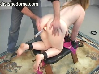 girl flaps inside bdsm culmination