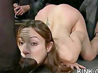 intense bdsm fuck and ass fistin