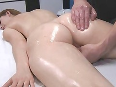 angel fucked after massage