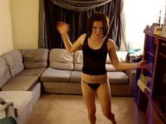 super naughty girlfriend dancing