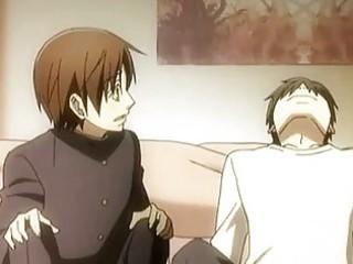 anime gay kissing n having awesome fuck