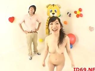 japanese av lady tastes her obtain kitty