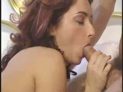 hawt hungarian red-haired had double permeated on
