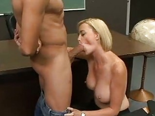 lusty pale lecturer camryn cross gets a meaty