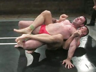 stiff gay fuckers wrestling difficult and strong