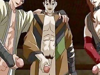 tied up anime twink takes his virgin dolf drilled