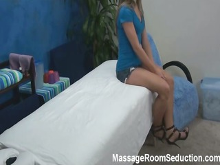 amy seduced and gang-banged by her massage