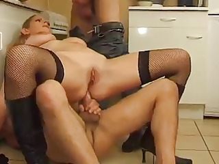 french lady big boops assfucked and dp
