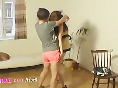 zuzinka like a super striptease teacher