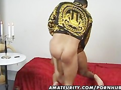 amateur older housewife licks and fucks with