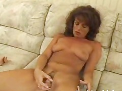 older angel playing hairy vagina